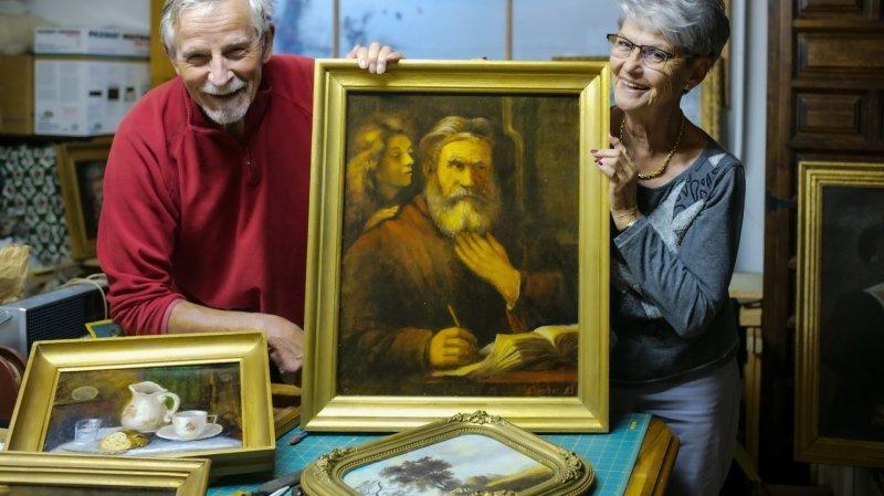 Paul Lüscher, le fonctionnaire de Fleurier était aussi un artiste