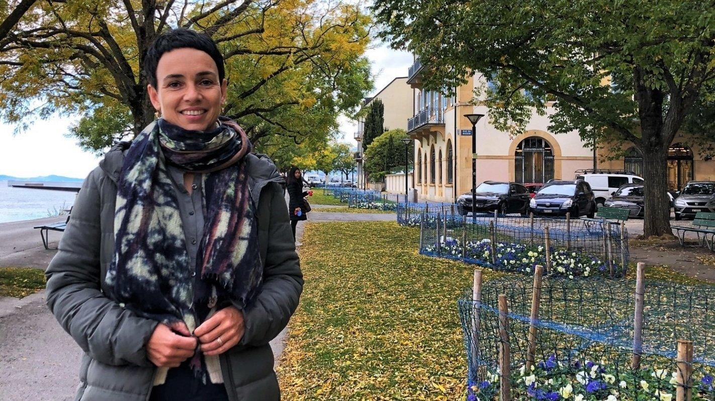 Une nouvelle cheffe pour les espaces verts de la Ville de Neuchâtel