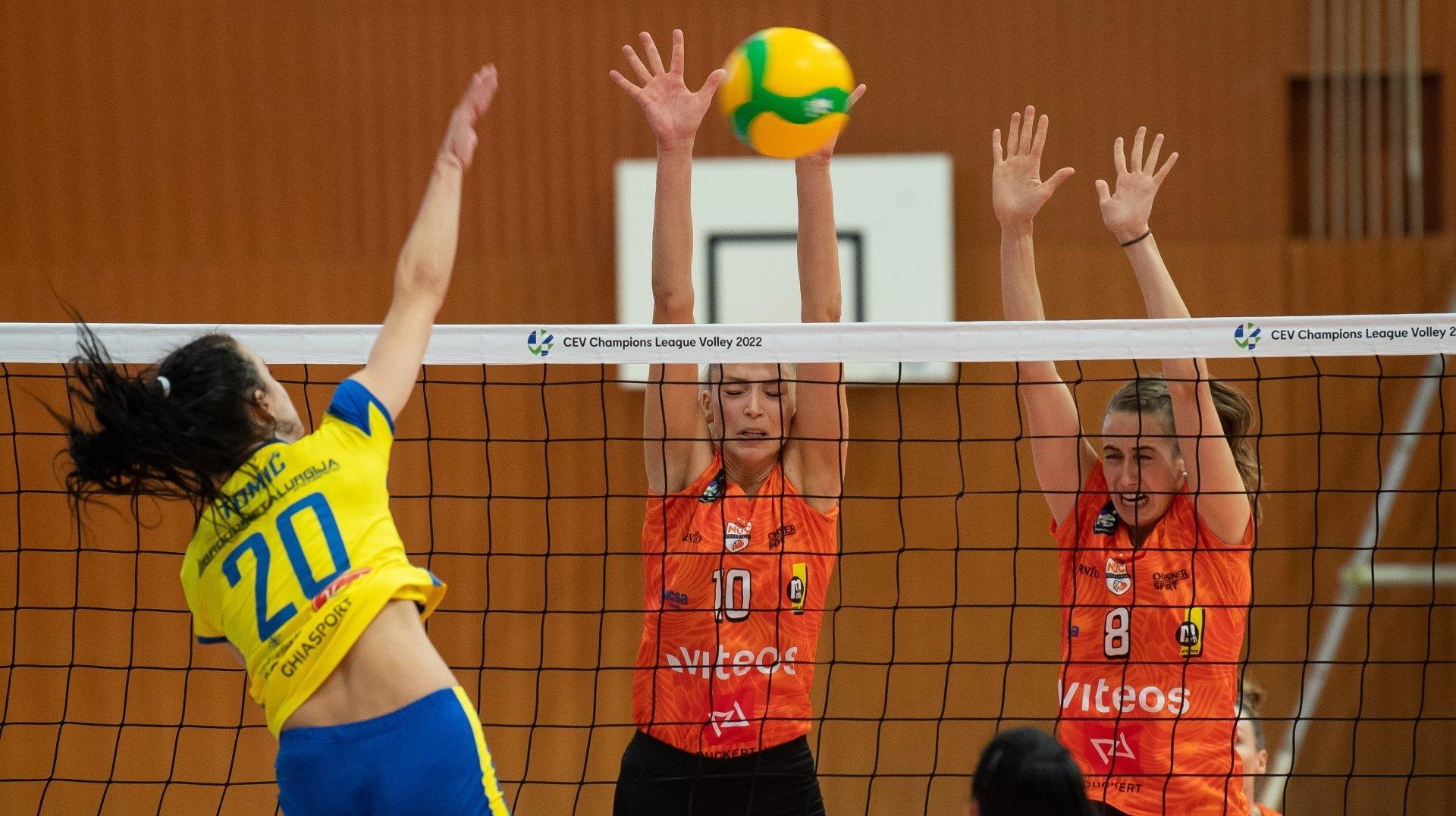 Le NUC bat Mladost Zagreb et poursuit son aventure en Ligue des champions