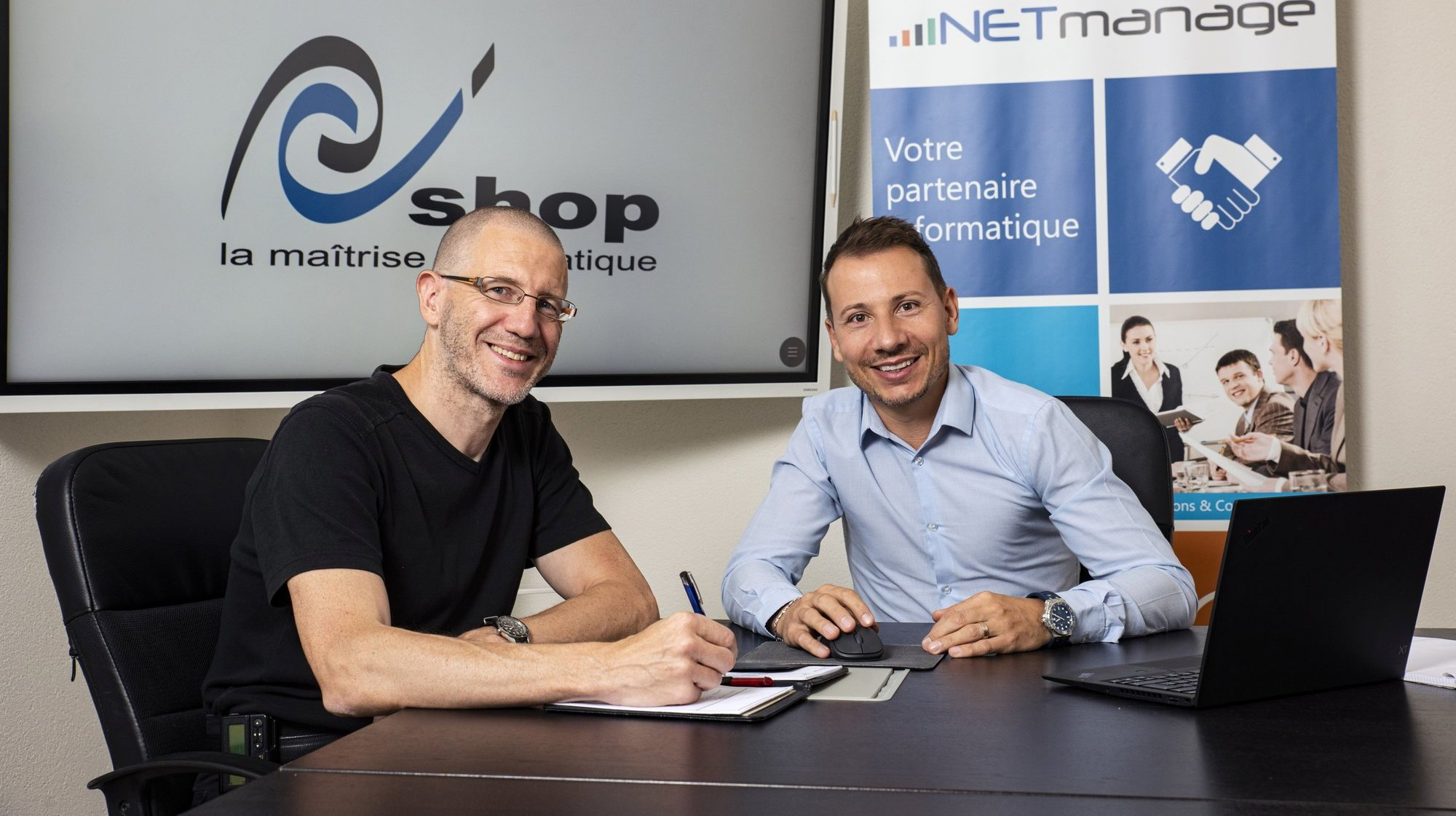 NETmanage rachète la société chaux-de-fonnière PC'Shop Informatique