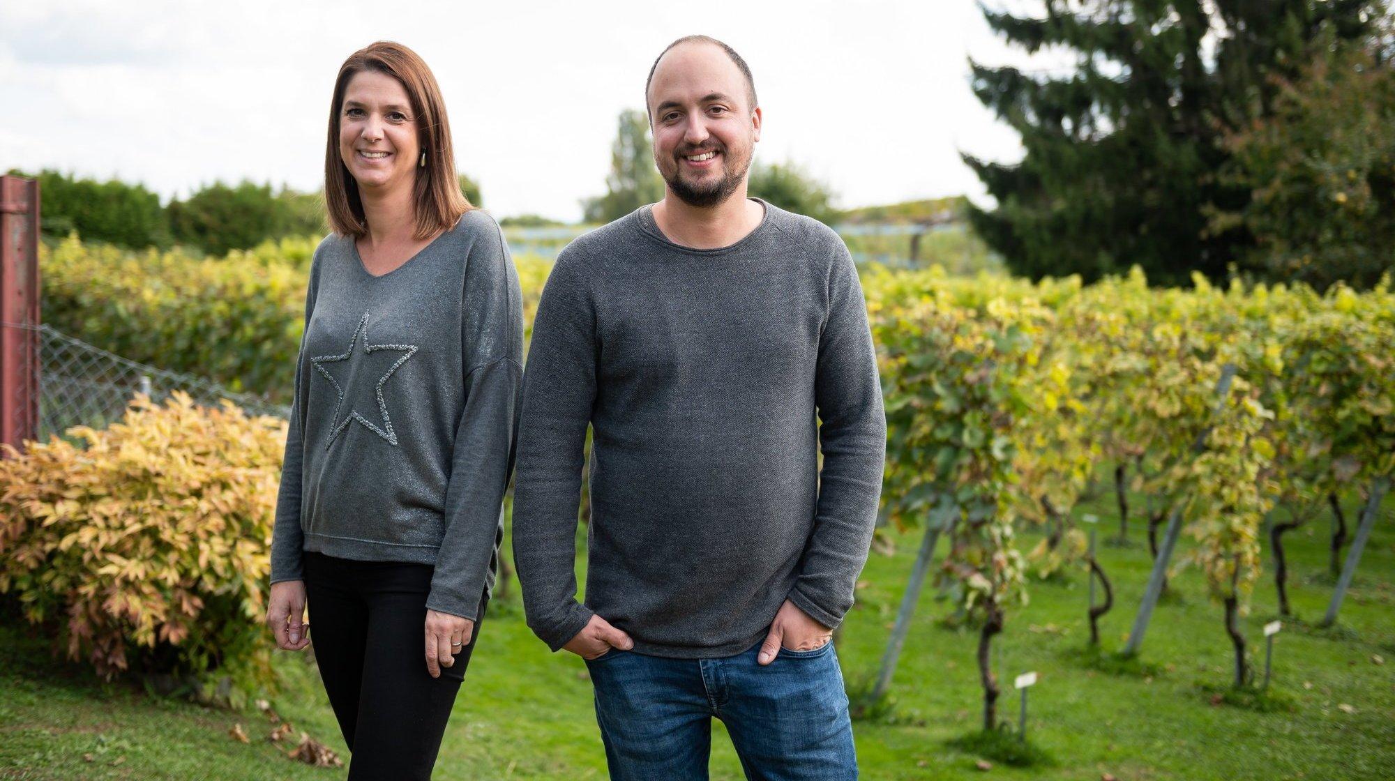 Auvernier: un duo qui a soif d'innovation dans une cave ancestrale