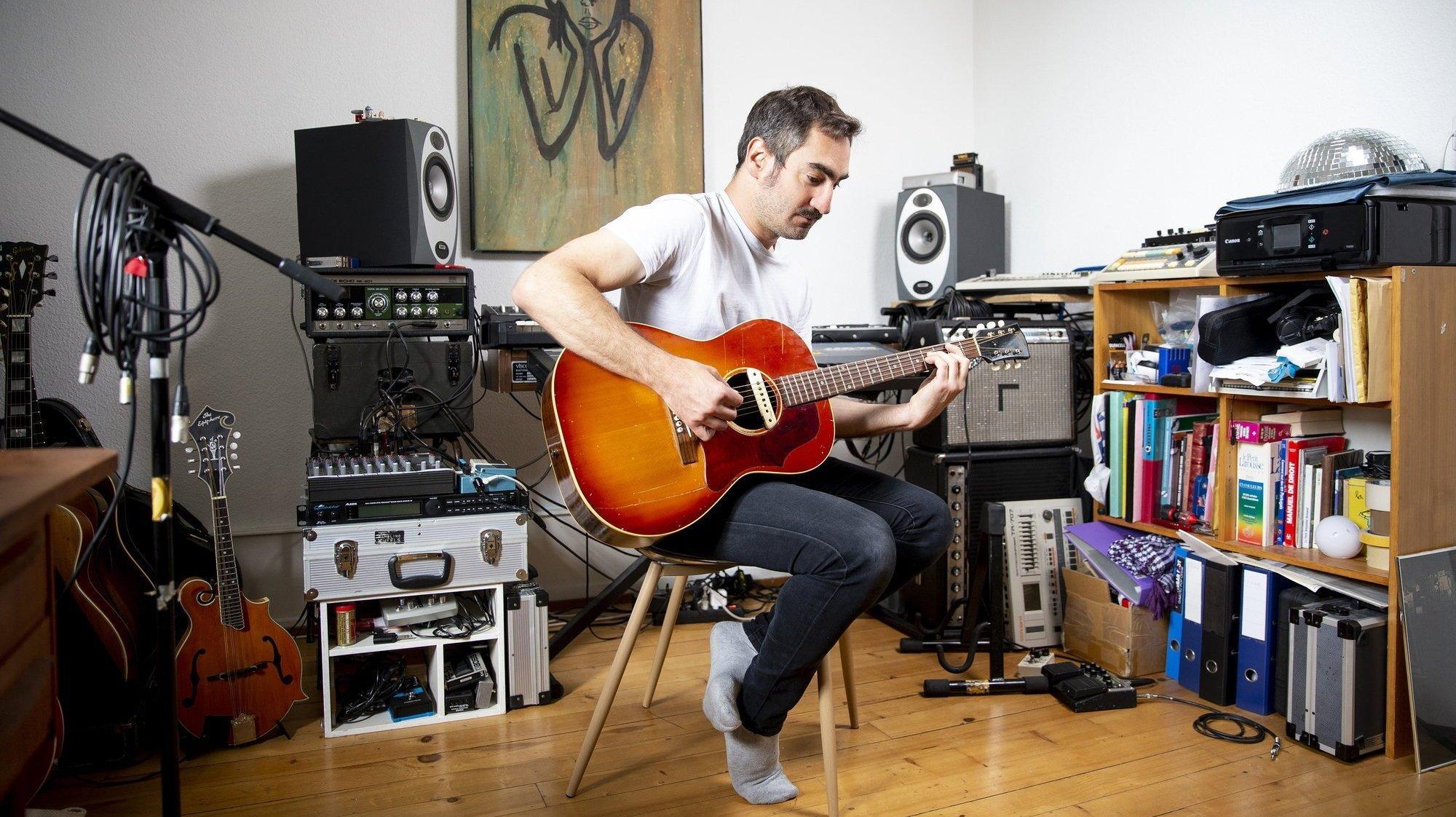 Neuchâtel: Raphaël Weber sort son premier album solo