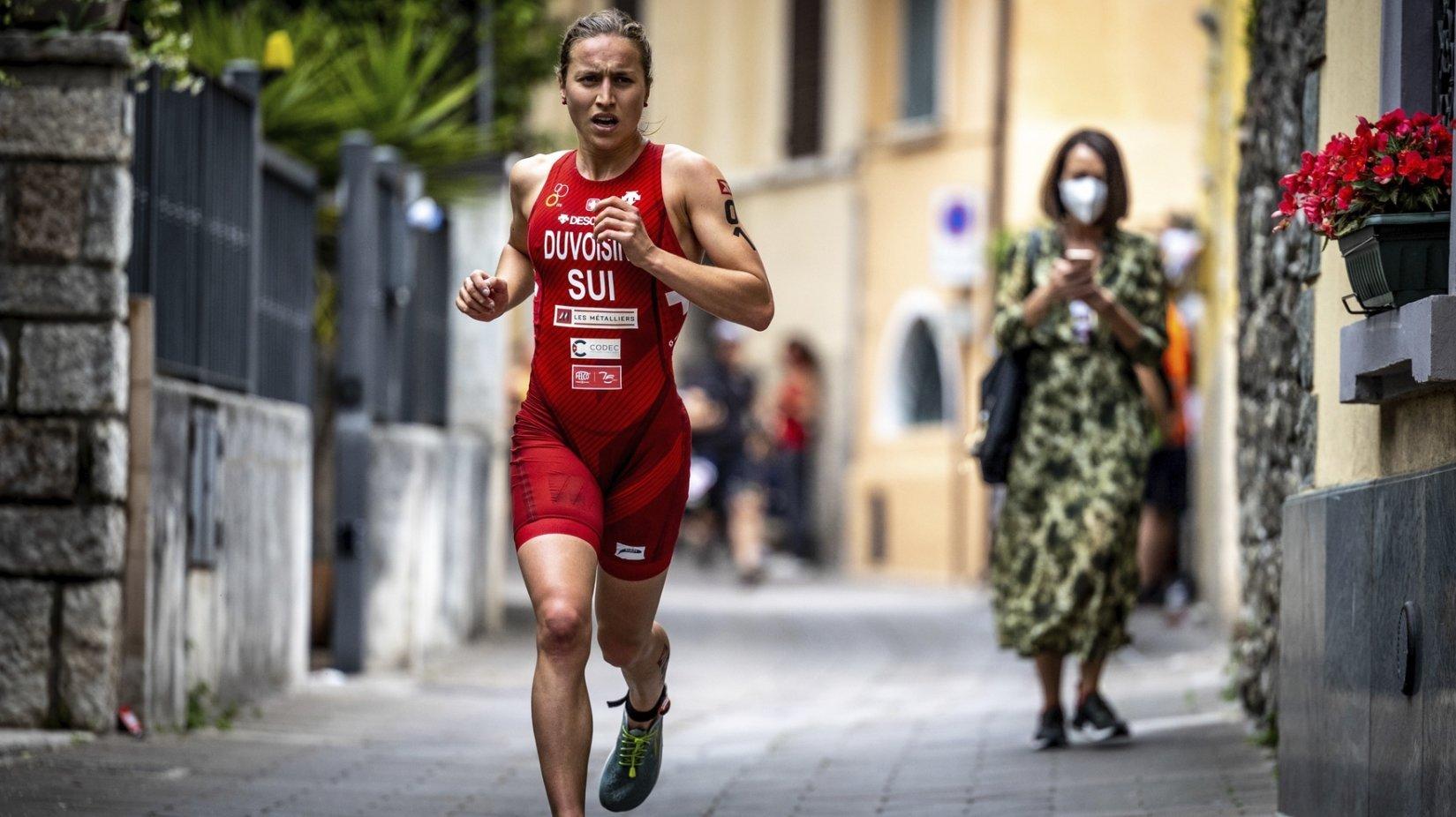 Loanne Duvoisin triomphe en semi-ironman à Barcelone