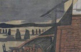 Décors de théâtre du peintre Lermite