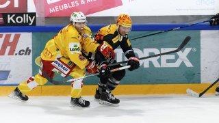 Mathias Trettenes a gagné avec Bienne contre Fribourg Gottéron