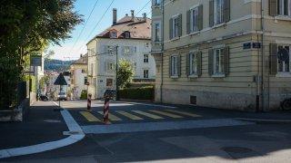 La Chaux-de-Fonds: les travaux à la rue du Dr Coullery sont terminés