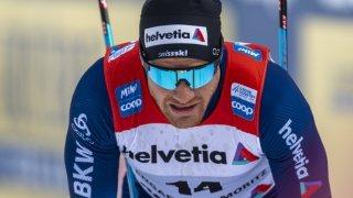 Ski nordique: Dario Cologna se blesse à un genou en chutant lors d'un entraînement
