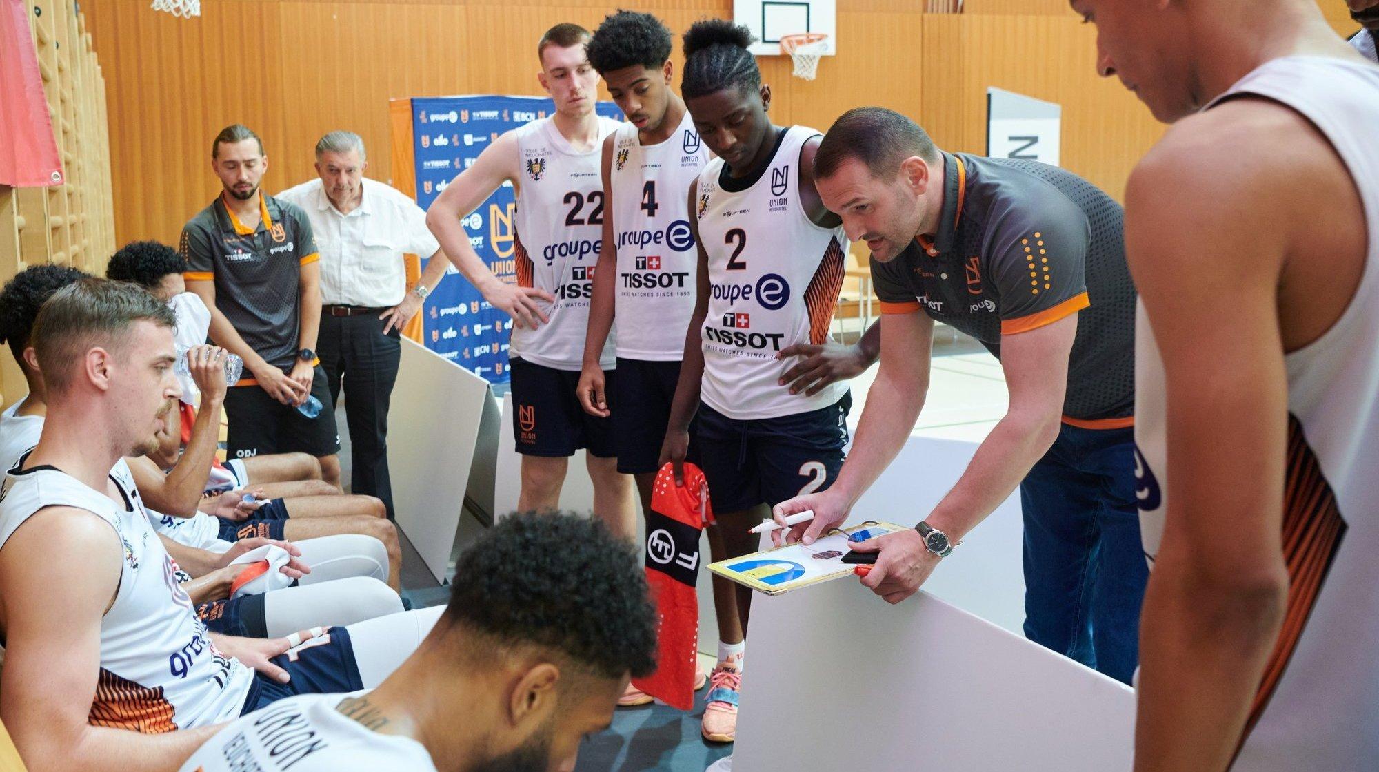Basketball:  à Union Neuchâtel, les jeunes doivent saisir leur chance cette saison