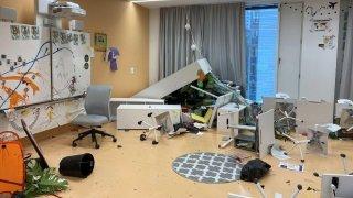 Deux classes primaires saccagées par des ados à Fribourg: 100'000 francs de dégâts