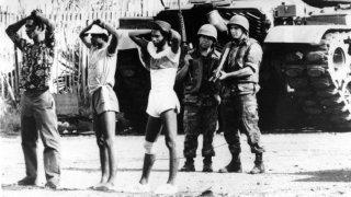 En 1983, la petite Grenade soumise aux Etats-Unis