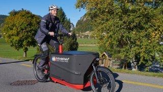 Le Locle: le retour des artisans à vélo