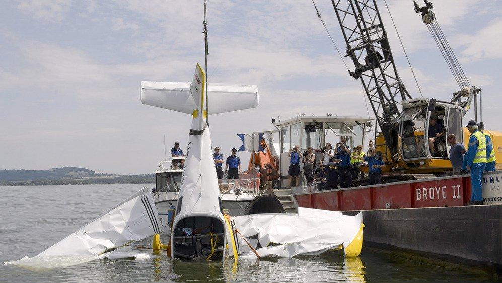 En juin 2014, un avion de tourisme s'est écrasé au large du Cudrefin. Les deux occupants ont péri.