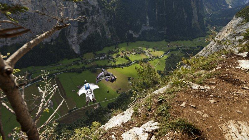 Berne: un base jumper russe se tue au Lauterbrunnen