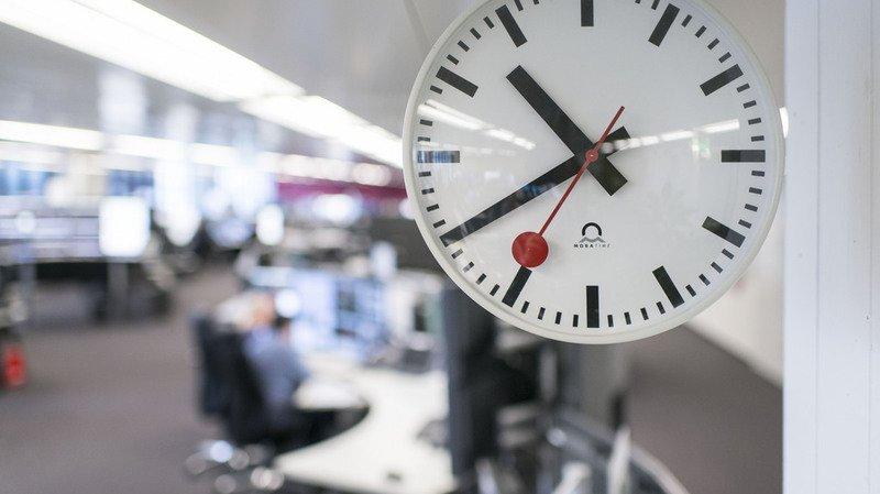 Emploi: en 2016, les Suisses ont en moyenne travaillé 41h10 par semaine
