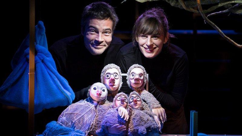 """Théâtre jeune public : """"Tombé du nid"""""""