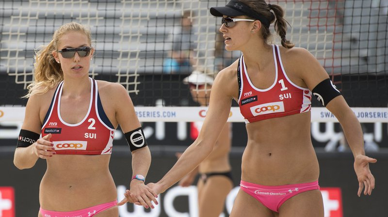 Beachvolley: Betschart et Hüberli sorties en demi-finale au World Tour de Porec