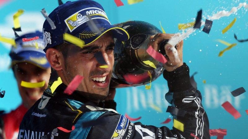 Formule E: le pilote d'Aigle Sébastien Buemi pourrait remporter ce weekend au Canada son 2e titre de champion du monde