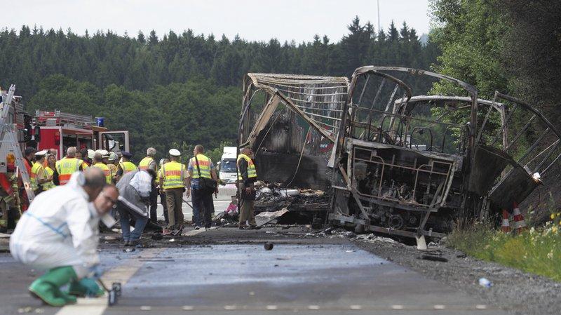 Les accidents de car les plus graves en Europe depuis 10 ans