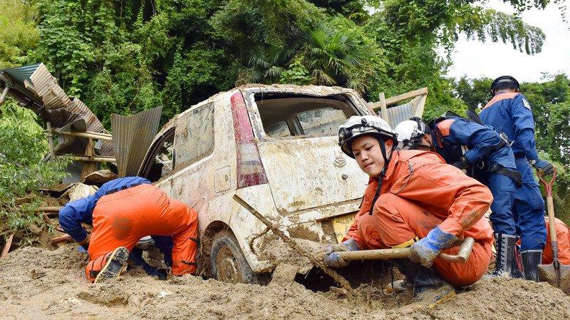 Japon: le bilan des inondations s'alourdit à 30 morts