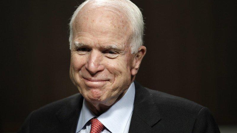 Etats-Unis: McCain, sénateur républicain, est atteint d'une tumeur au cerveau