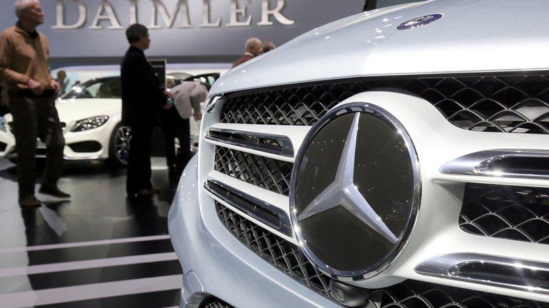Moteurs truqués: Daimler, le constructeur des Mercedes, aurait manipulé le moteur d'un million de véhicules