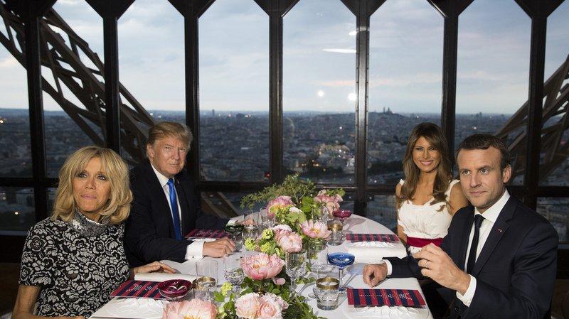 Macron et Trump assisteront aux célébrations parisiennes du 14 juillet sur les Champs Elysées