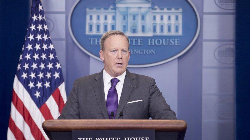 Etats-Unis: Sean Spicer, le porte-parole de la Maison Blanche démissionne