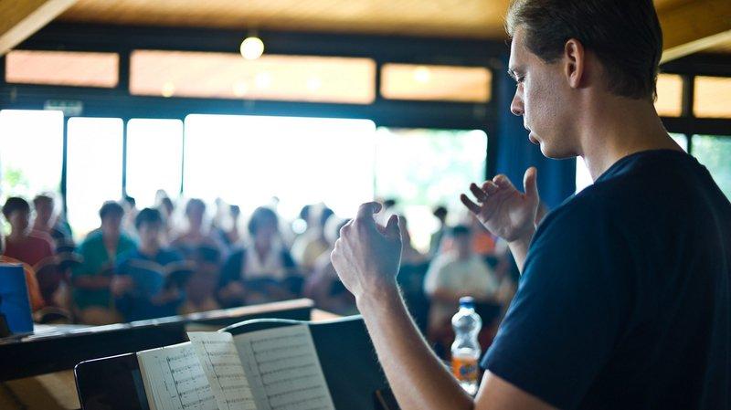 Amateurs de chant réunis