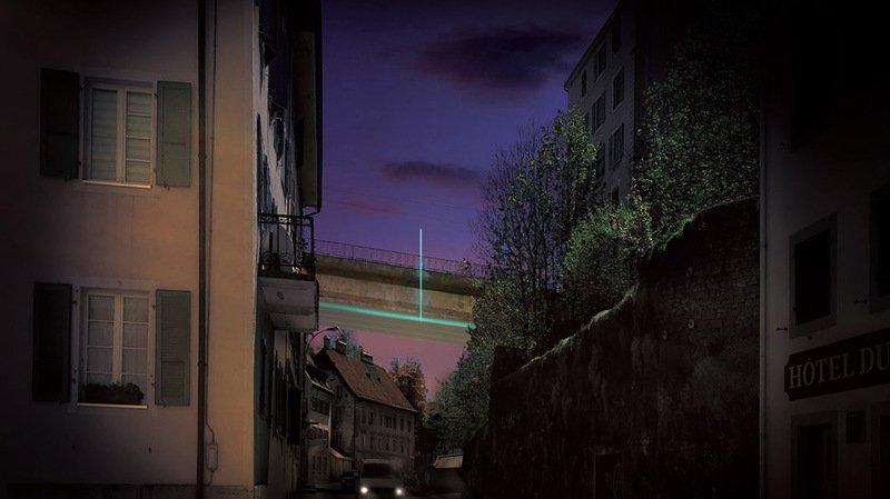 Un projet lumineux pour embellir le Pont du manège à La Chaux-de-Fonds