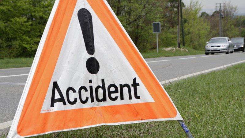 L'accident s'est produit vers 6h ce lundi et a fait une blessée.