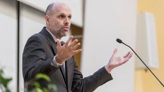 Kilian Stoffel reconduit à la tête de l'Université de Neuchâtel