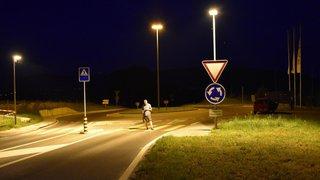 Zone d'ombre sur l'éclairage nocturne dans la campagne neuchâteloise