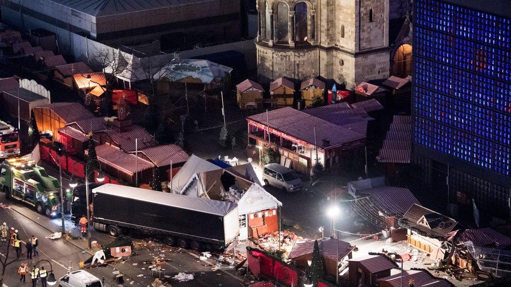 L'attentat du marché de Noël  de Berlin en 2016 avait fait douze morts.