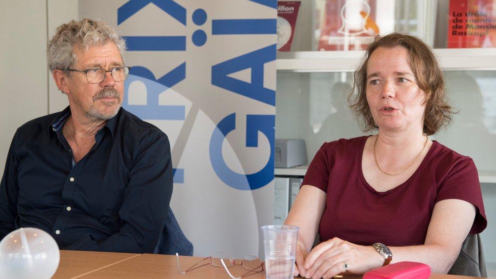 L'horloger Jean-Marc Wiederrecht et l'historienne Laurence Marti sont deux des lauréats du Prix Gaïa 2017.