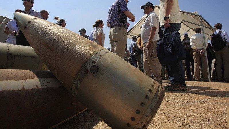 Armes à sous-munitions: la Suisse a détruit 86% de son stock