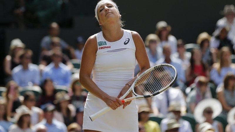 Tennis: Timea Bacsinszky déclare forfait pour l'US Open