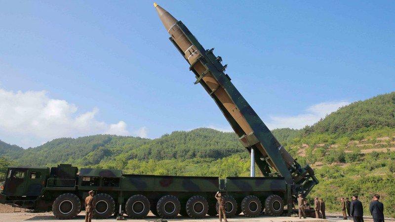"""Corée du Nord: le """"feu et la colère"""" de Donald Trump contre Kim Jong Un, prêt à frapper Guam"""