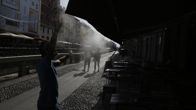 Italie: les nombreux incendies qui frappent le pays ont fait un mort