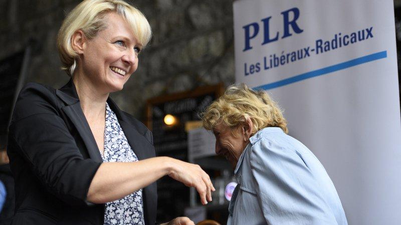 Succession Burkhalter: Isabelle Moret a été désignée comme candidate par le PLR Vaud