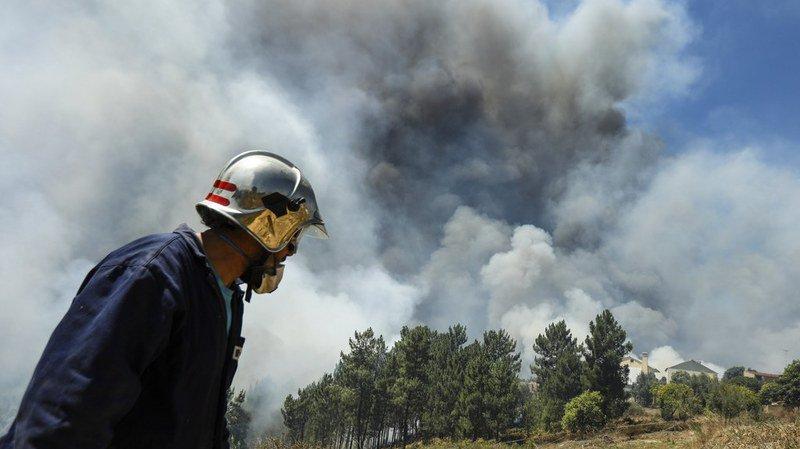 Une nouvelle série de feux de forêt s'est déclarée dans le nord et le centre du Portugal