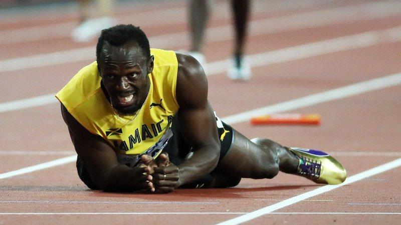 Fin de carrière amère pour Usain Bolt.