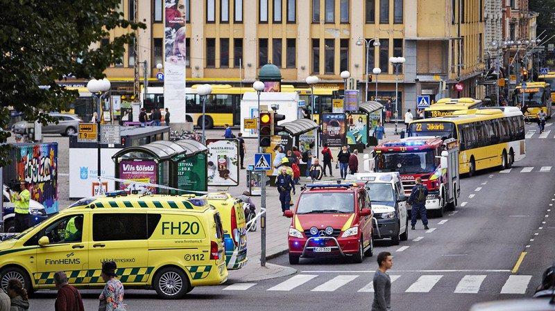 Finlande: deux morts et six blessés dans une attaque au couteau à Turku