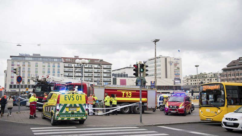 Finlande: attaque au couteau, cinq personnes arrêtées