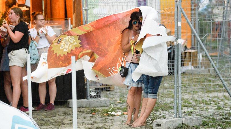 Intempéries: un orage violent frappe la Suisse