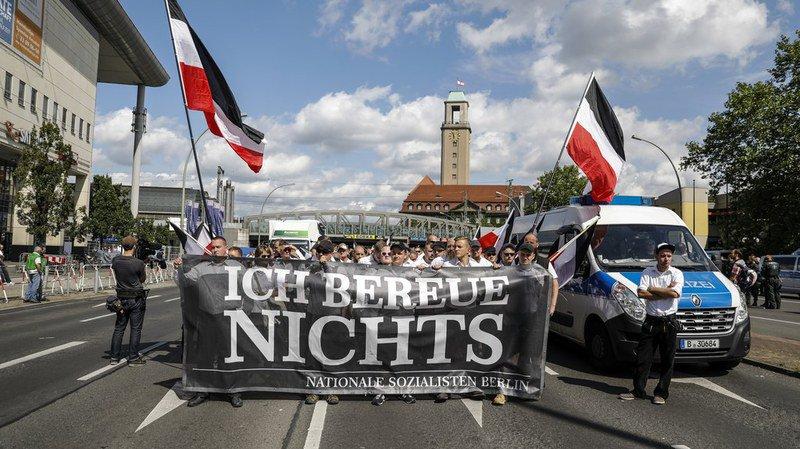 Allemagne: des néo-nazis manifestent en l'honneur de Rudolf Hess à Berlin