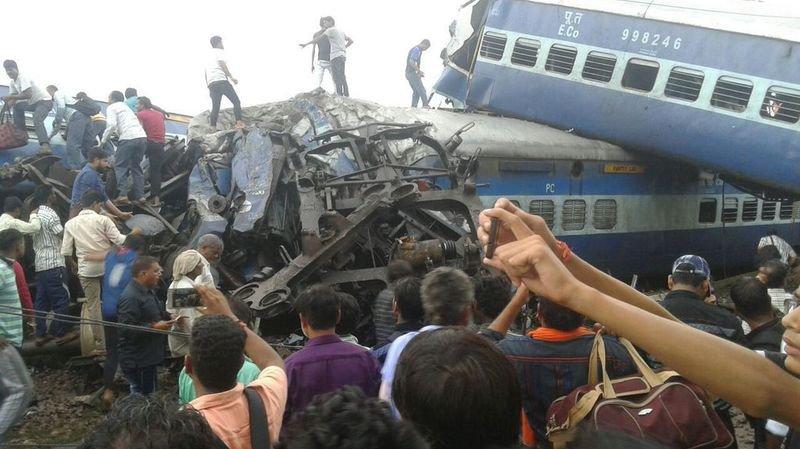 Inde: 23 morts et 64 blessés dans un accident de train