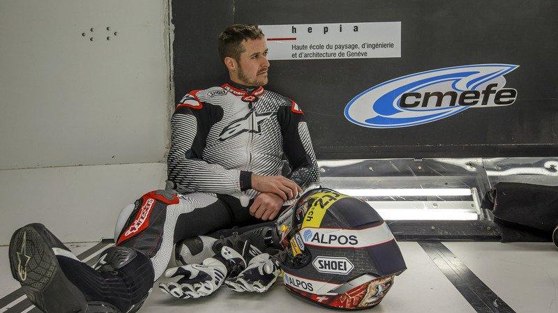 Moto: Thomas Lüthi dans la catégorie MotoGP en 2018