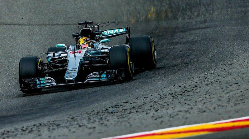 Formule 1: Hamilton décroche la pole position en Belgique et égale de record de Michael Schumacher