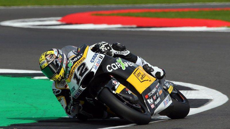 Motocyclisme: Tom Lüthi échoue au pied du podium à Silverstone