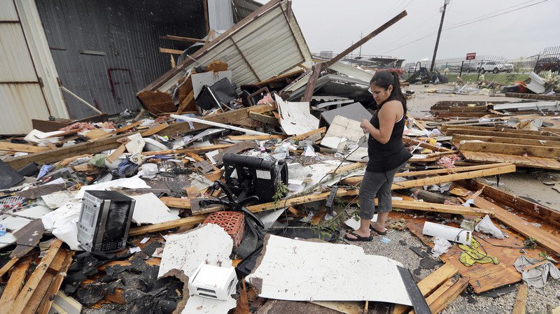 L'ouragan Harvey, qui a provoqué des précipitations de 1,27 mètre d'eau au Texas, a causé des dégâts estimés à 125 milliards de dollars.